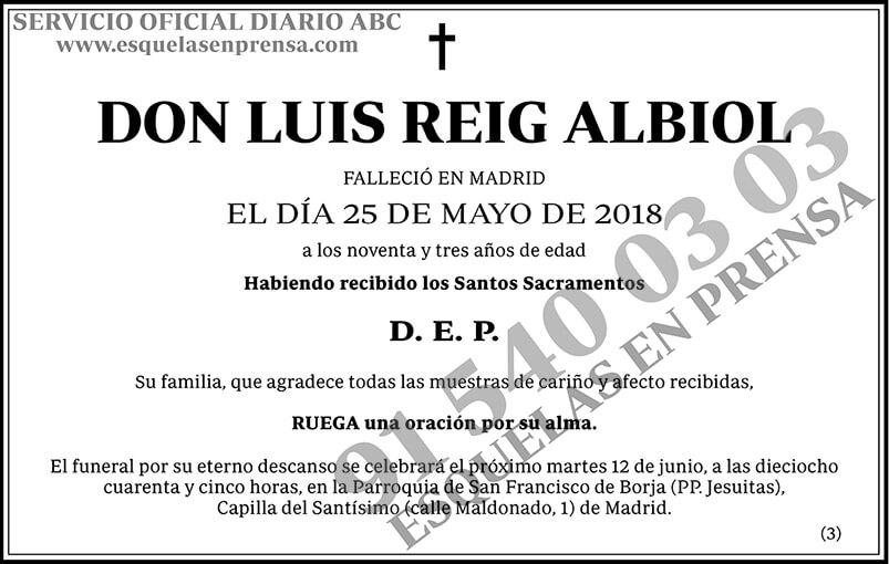 Luis Reig Albiol
